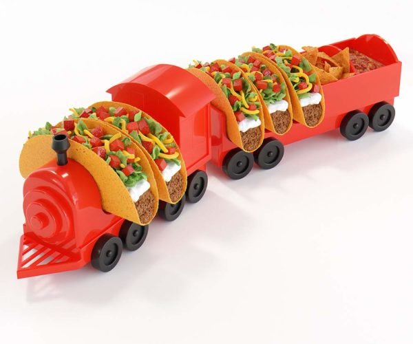 The Taco Train Taco Holder: Chew Chew Train