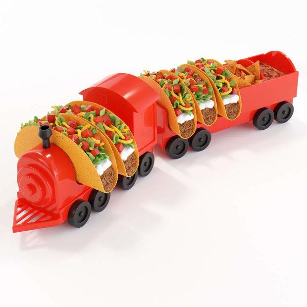 The Taco Train Taco Holder: Chew Chew Train
