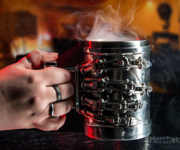 Terminator T-800 Hand Tankard and Bookends: Cyberdyne Collectibles