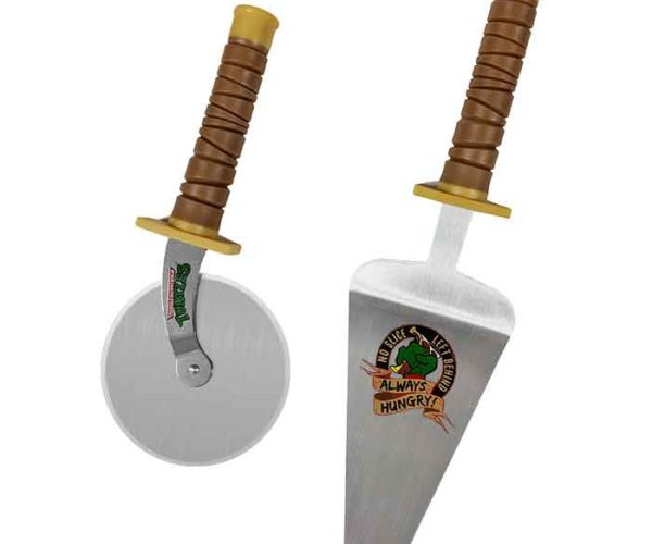 Teenage Mutant Ninja Turtles Pizza Cutter Set: No Slice Left Behind