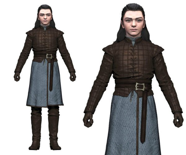 Arya Stark Action Figure Says Not Today to the Action Figure of Death