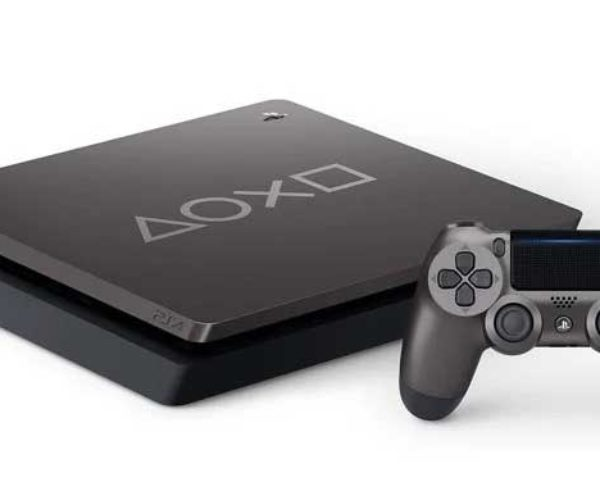 "Rather Boring ""Days of Play"" Steel Black PS4 Now Available"