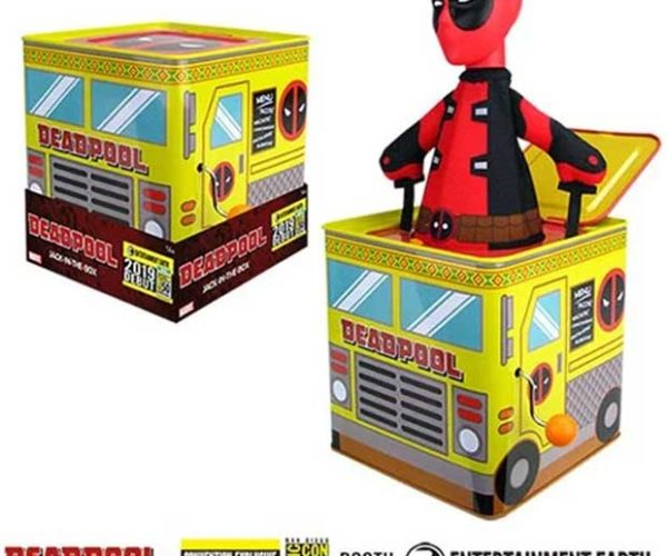 Deadpool Jack-in-the-Box: Merc-in-the-Box
