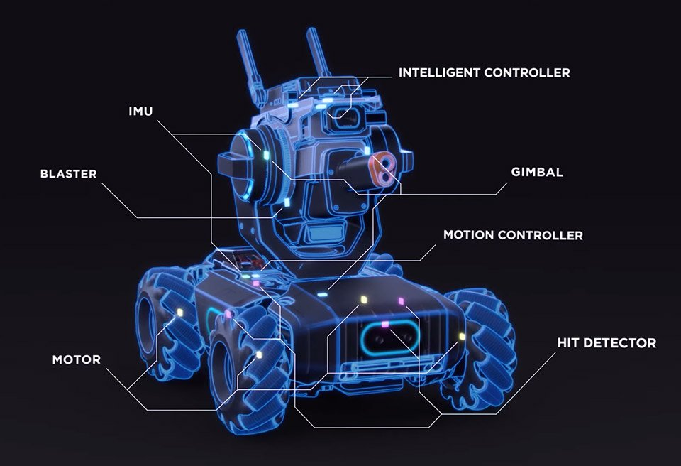DJI RoboMaster S1 Robot Is a Programmable Wonder