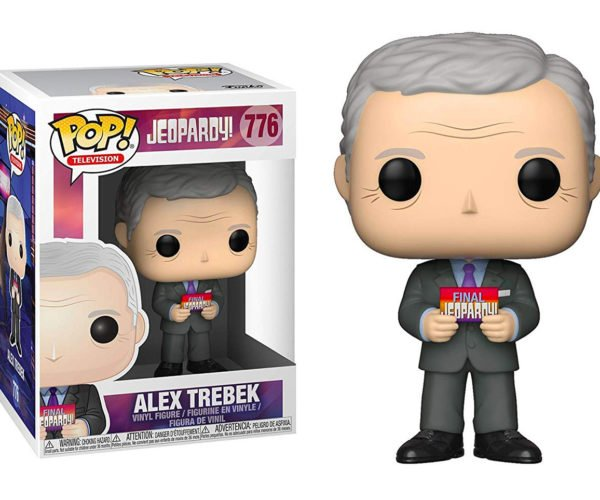 Funko Pop! Alex Trebek Figure: I Lost on Jeopardy, Baby.