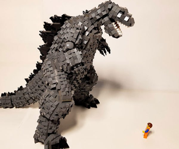 LEGO Godzilla Is a Monster Creation