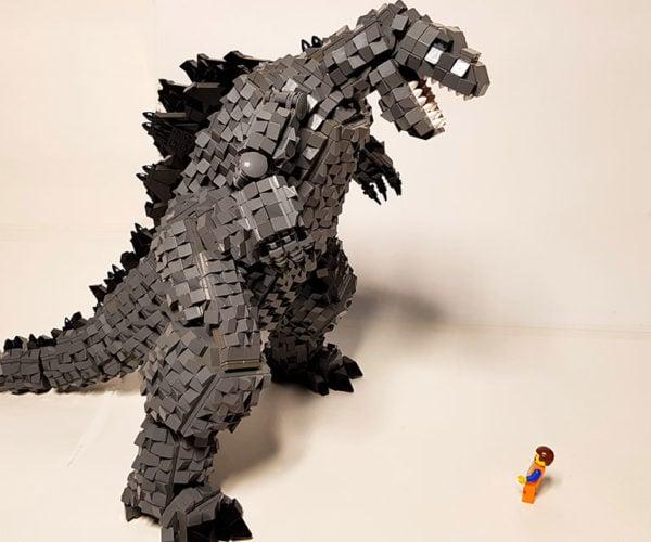 LEGO Godzilla Is a Monster Creation