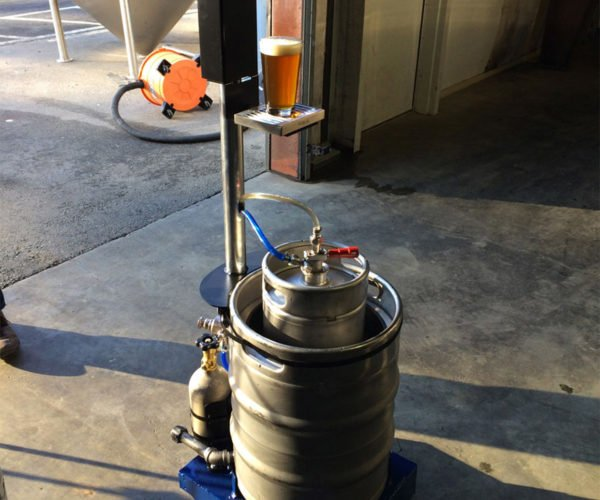 Keg-A-Droid Is a Remote Controlled Beer Keg