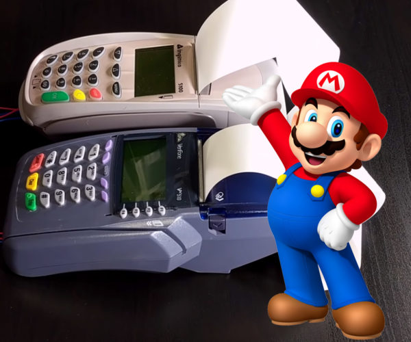 Credit Card Machines Perform Super Mario Bros Theme