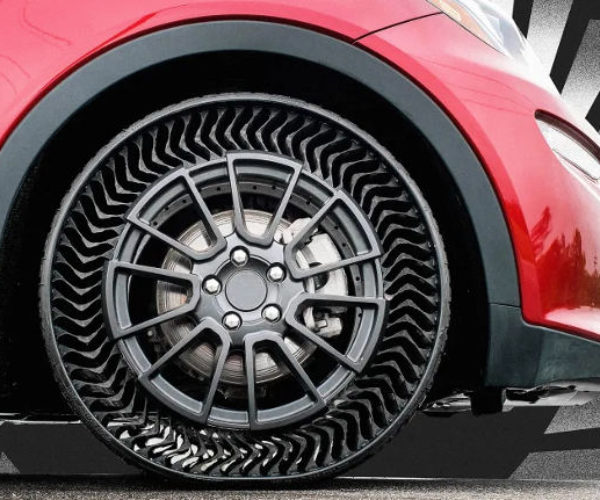 Michelin Plans to Produce Airless Tires by 2024