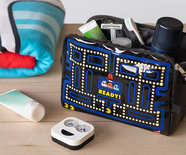 Pac-Man Toiletry Bag: Doppa Doppa Doppa