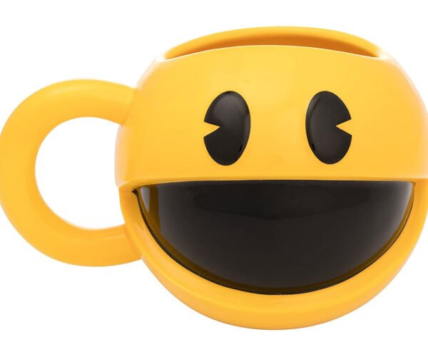 Pac-Man Mug Powers You up with Caffeine