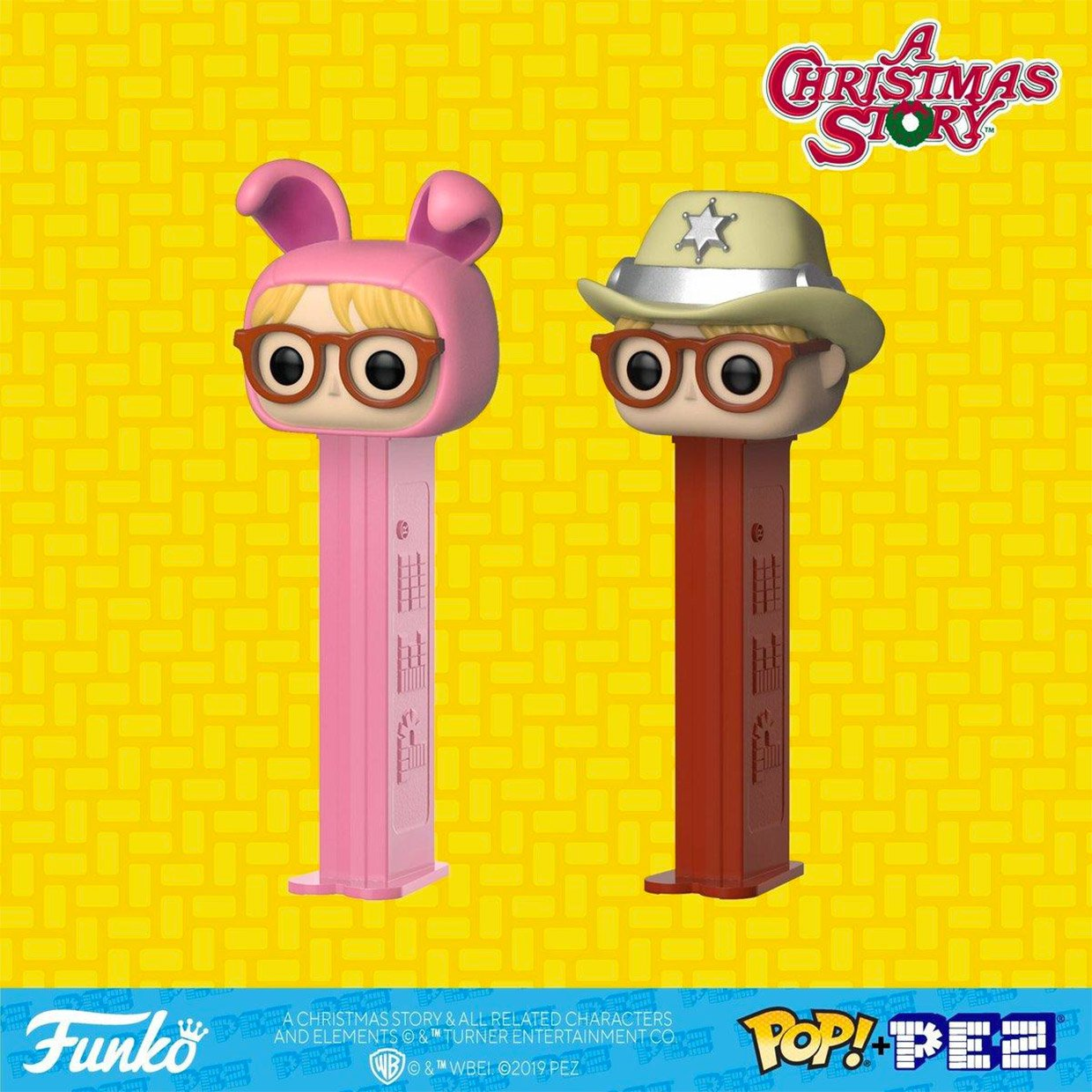 Funko A Christmas Story PEZ Dispensers: You'll Shoot Your Eye Out, Kid!