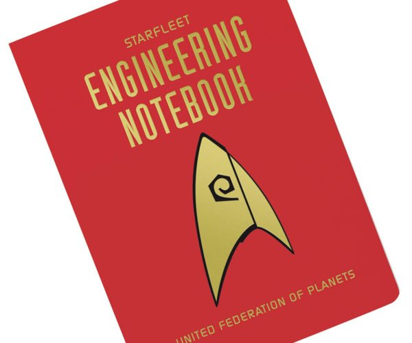 This Starfleet Engineering Notebook Is Approved by the United Federation of Planets