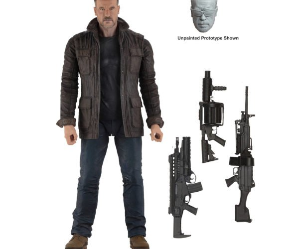 Terminator Dark Fate T-800 Action Figure Is Back