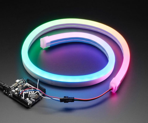 NEOPixel RGB LED Tubing Brings the Color