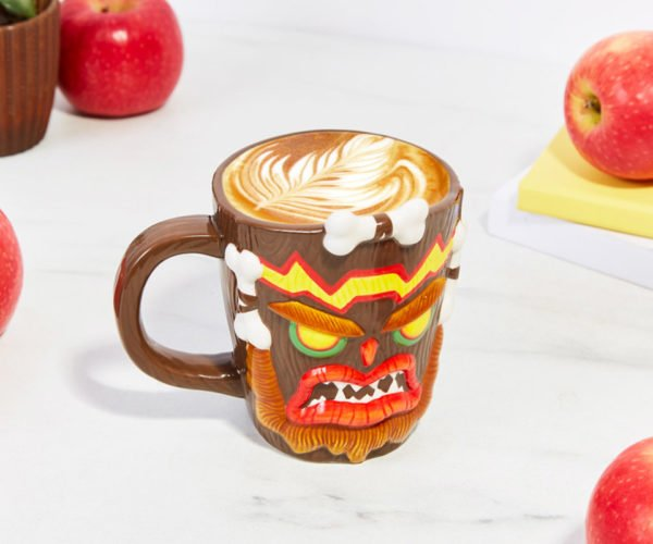 Crash Bandicoot Uka Uka Mug: That's One Angry Mug