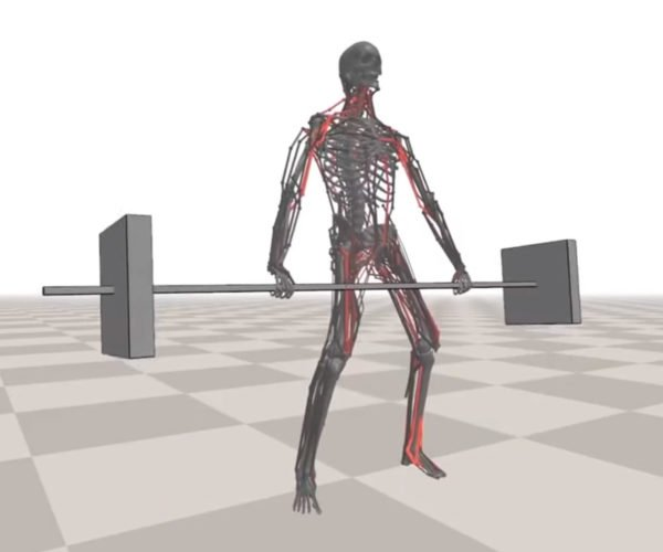 These Digital Characters Have a Full Musculoskeletal System
