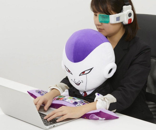 Dragon Ball Frieza Plush Boss Cushion Gets in Your Way While You Type