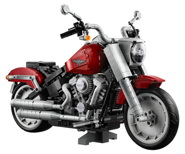LEGO Harley-Davidson Fat Boy: Get Your Motor Runnin'
