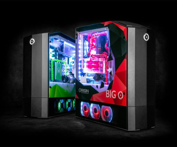 Origin Big O 2019 Computer Packs a Gaming PC, Xbox One X, PS4 Pro, and Nintendo Switch