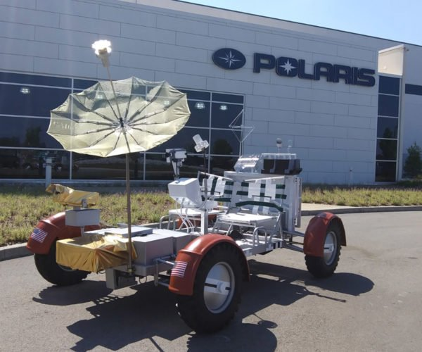 Polaris Builds a Working Replica of an Apollo Lunar Rover