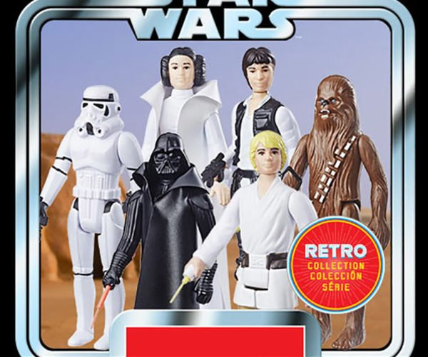 Star Wars Action Figures Go Retro