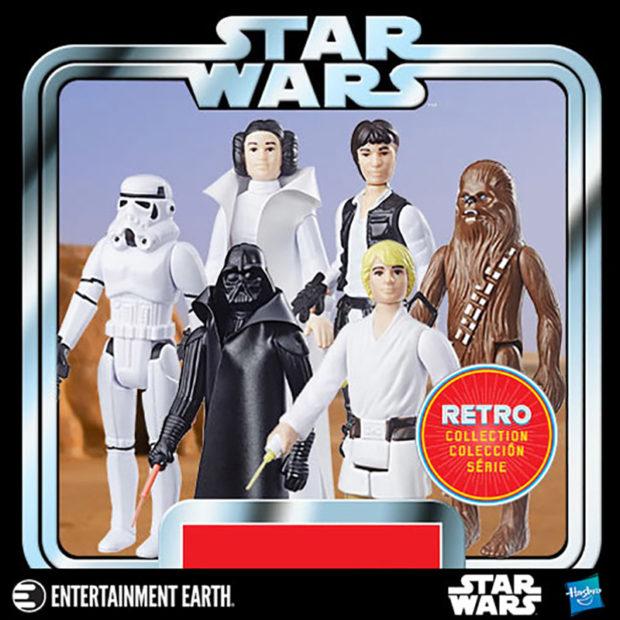 Star Wars Action Figures Go Retro