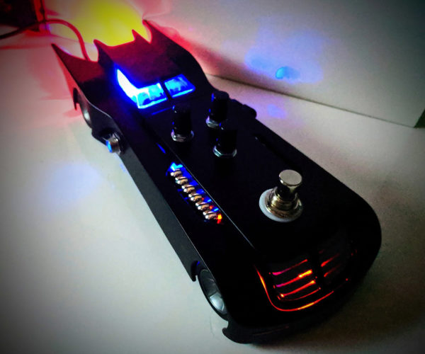 The Batmobile Guitar Effects Pedal: Dunna Nunna Nunna Nunna, Batman!