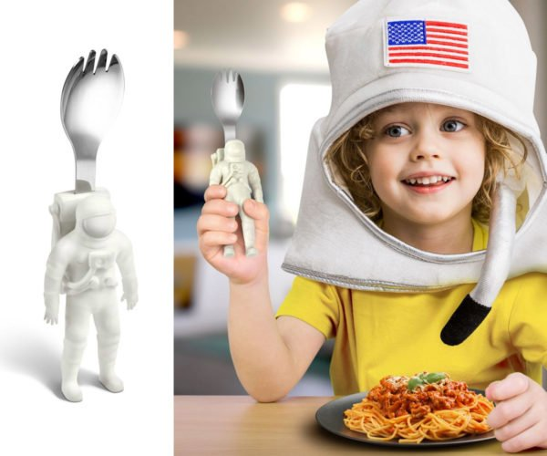 Gastronaut Kids' Utensil: Spork, The Final Frontier