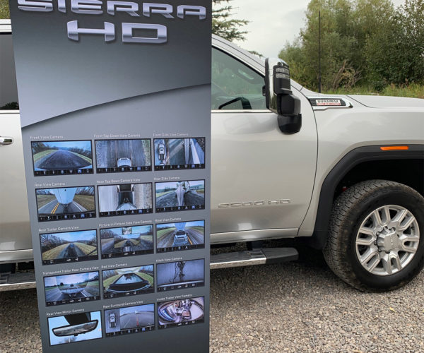 2020 GMC Sierra HD Trucks Make Trailers Transparent