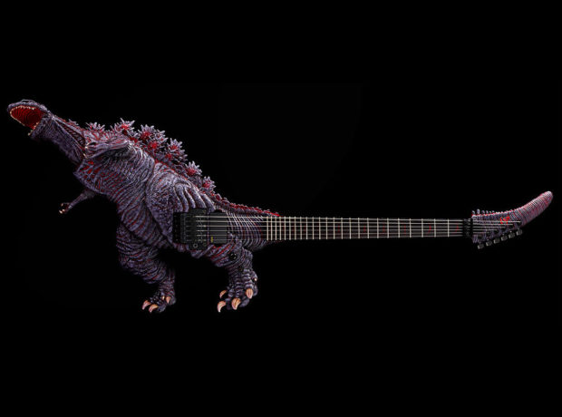 This Godzilla Guitar Is a True Monster of Rock