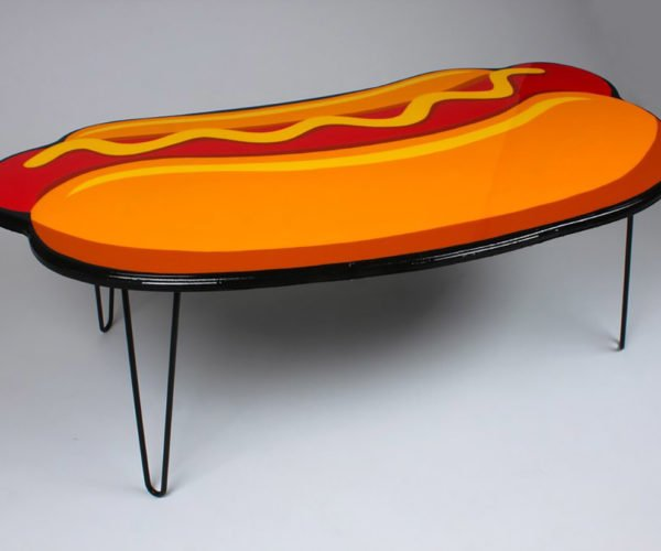 We Relish This Hot Dog Coffee Table