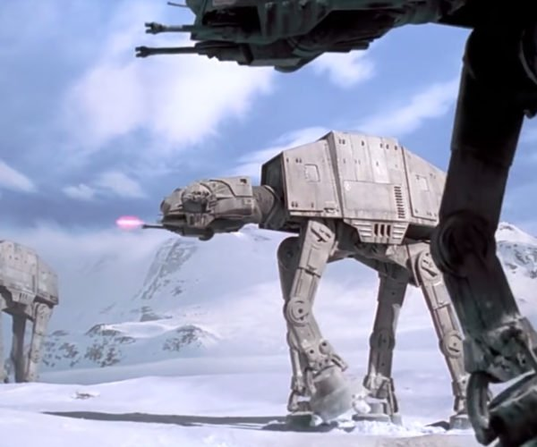 How Fast is an AT-AT Walker?