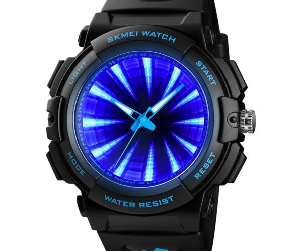 This Watch Has an Infinity Mirror Background