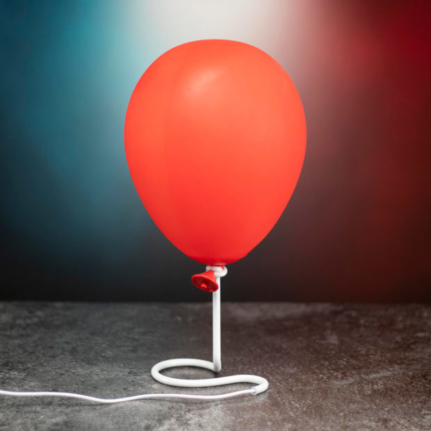 IT Pennywise Balloon Lamp: They All Float Down Here