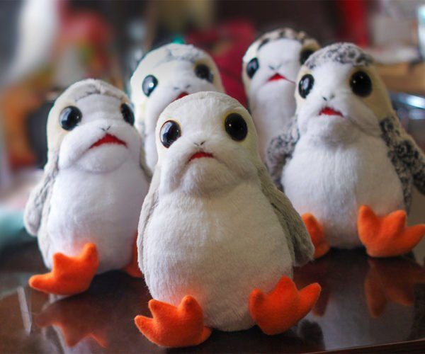 These Plush Porgs Need a Home