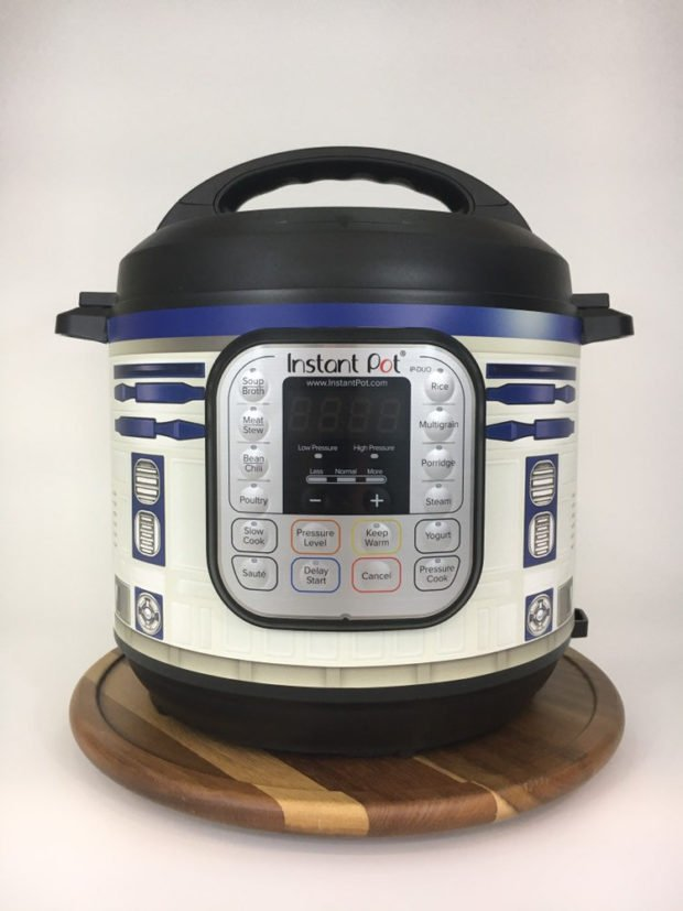 Turn Your Instant Pot Cooker into R2-D2