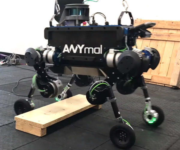 ANYmal Robot Has Both Legs and Wheels