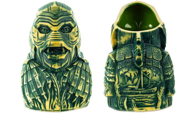 Creature from the Black Lagoon Tiki Mug Is Perfect for Swamp Water Punch