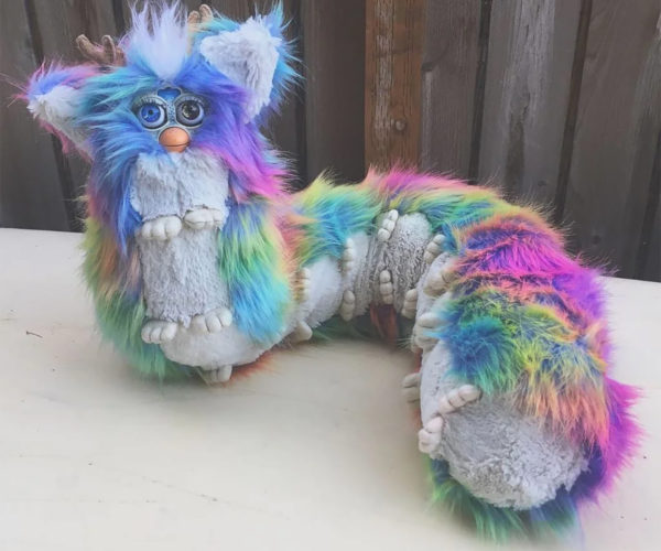 Furby Centipede Is the Stuff of Nightmares