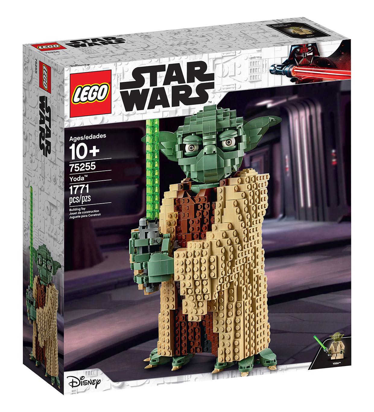 Lego Star Wars Set Lets You Build A Giant Yoda