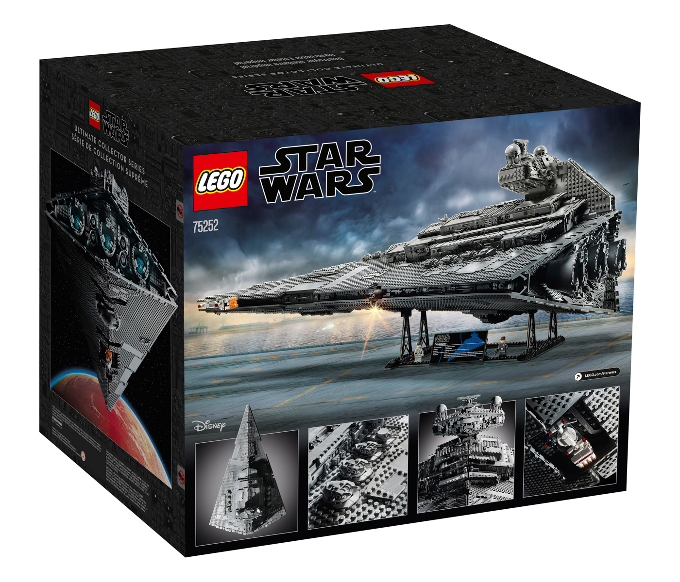 Lego Ucs Imperial Star Destroyer Has Nearly 5 000 Pieces