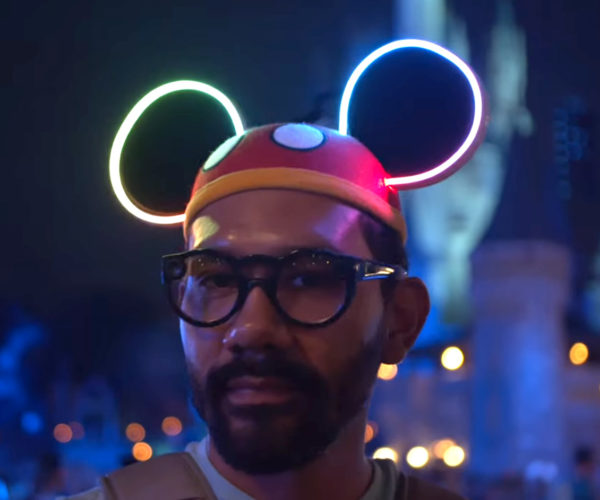 DIY Light-up Neon (LED) Mickey Mouse Ears