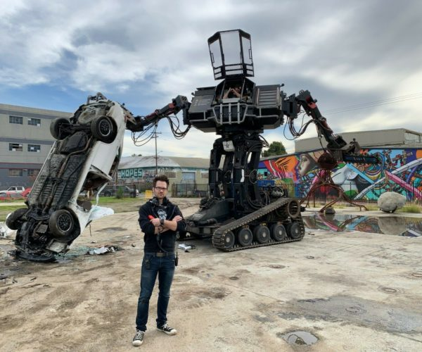 MegaBots 2-Story Mech Goes up for Sale on eBay