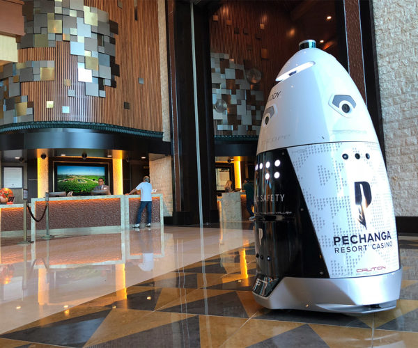 Pechanga Casino Resort Bets on Security Robot