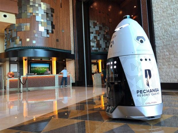 Pechanga Casino Resort Bets on Security Robot