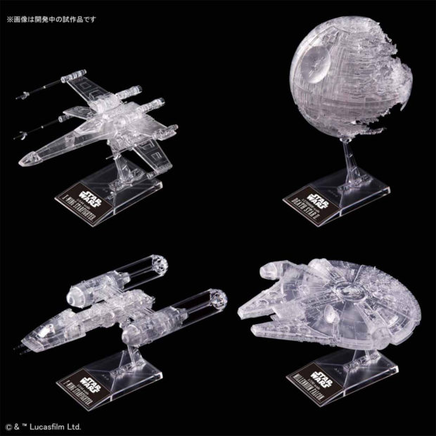 Return of the Jedi See-Through Ships: Clear Wars