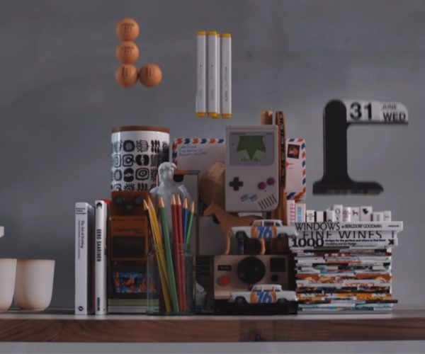 Commercial Turns Real World Stuff into Game of Tetris