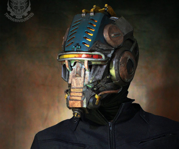 Interrogator Cyberpunk Cosplay Helmet Is Seriously Badass